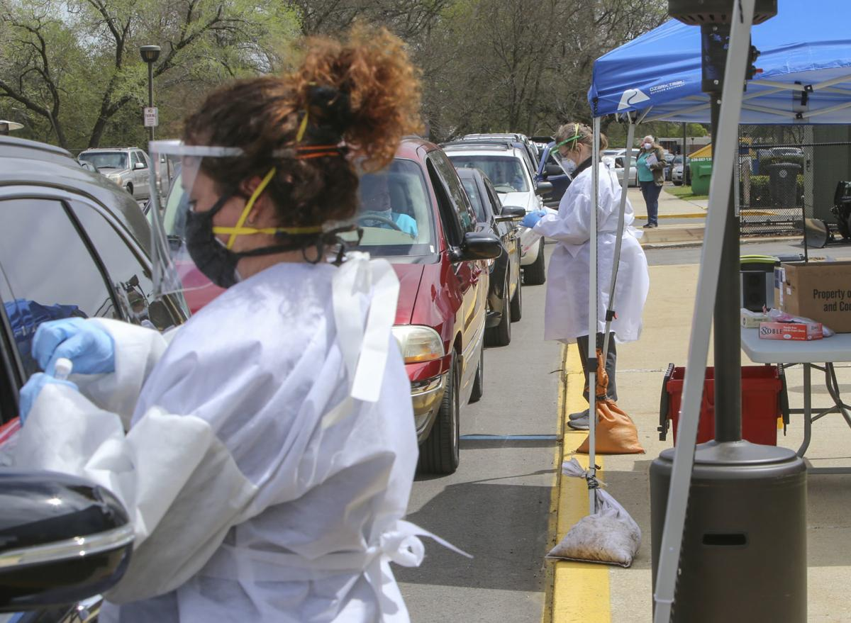 East Chicago offers drive-thru COVID-19 testing