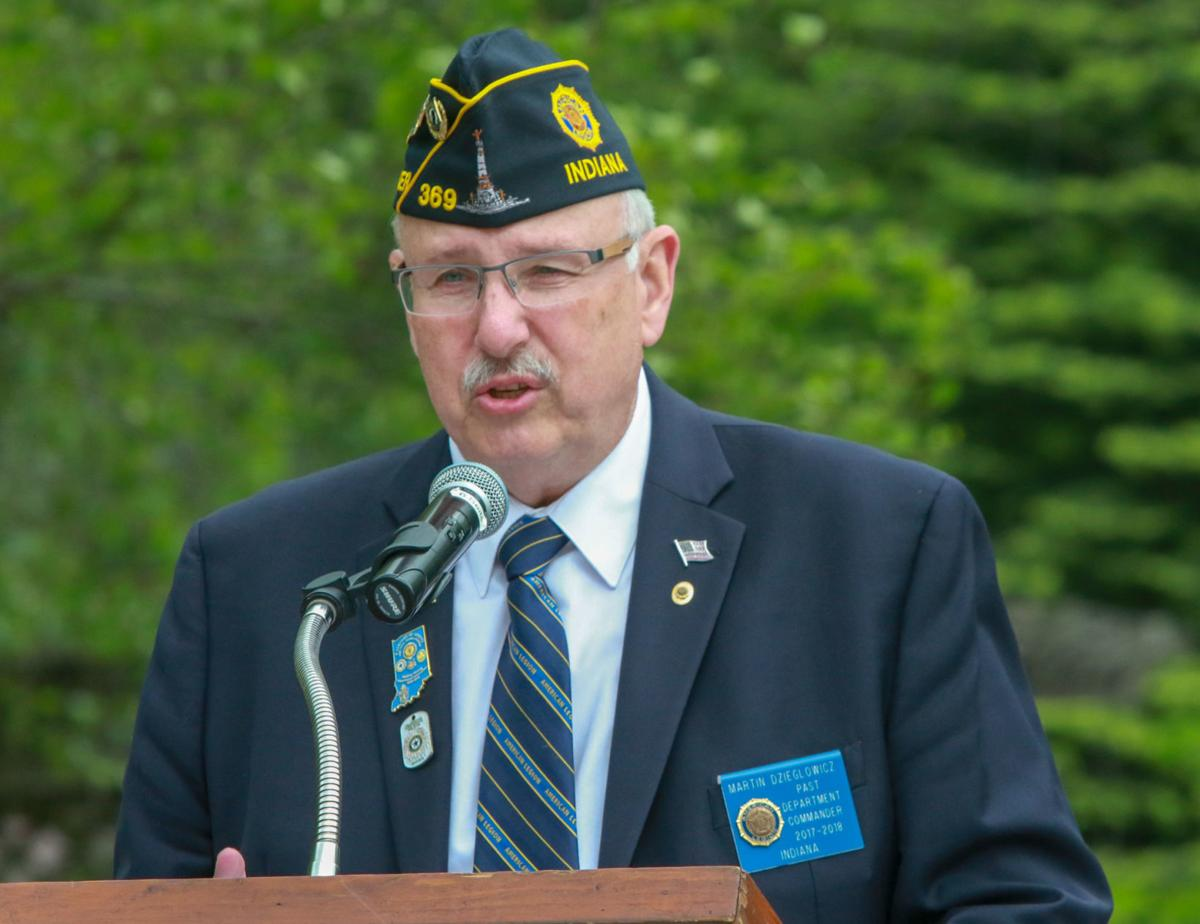 Memorial Day service presented by the Vietnam Veterans Memorial Committee