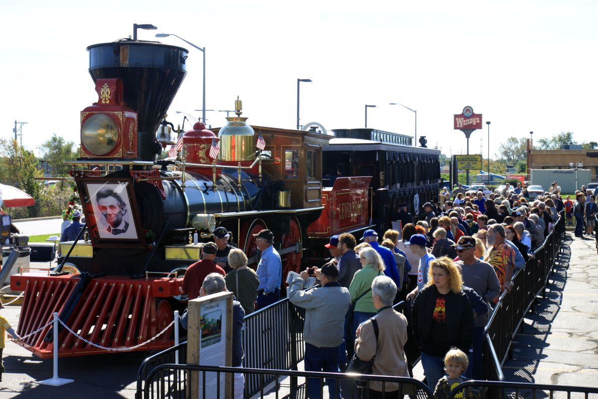 Marc Chase Region Leaders Seek To Punch Lincoln Funeral Train