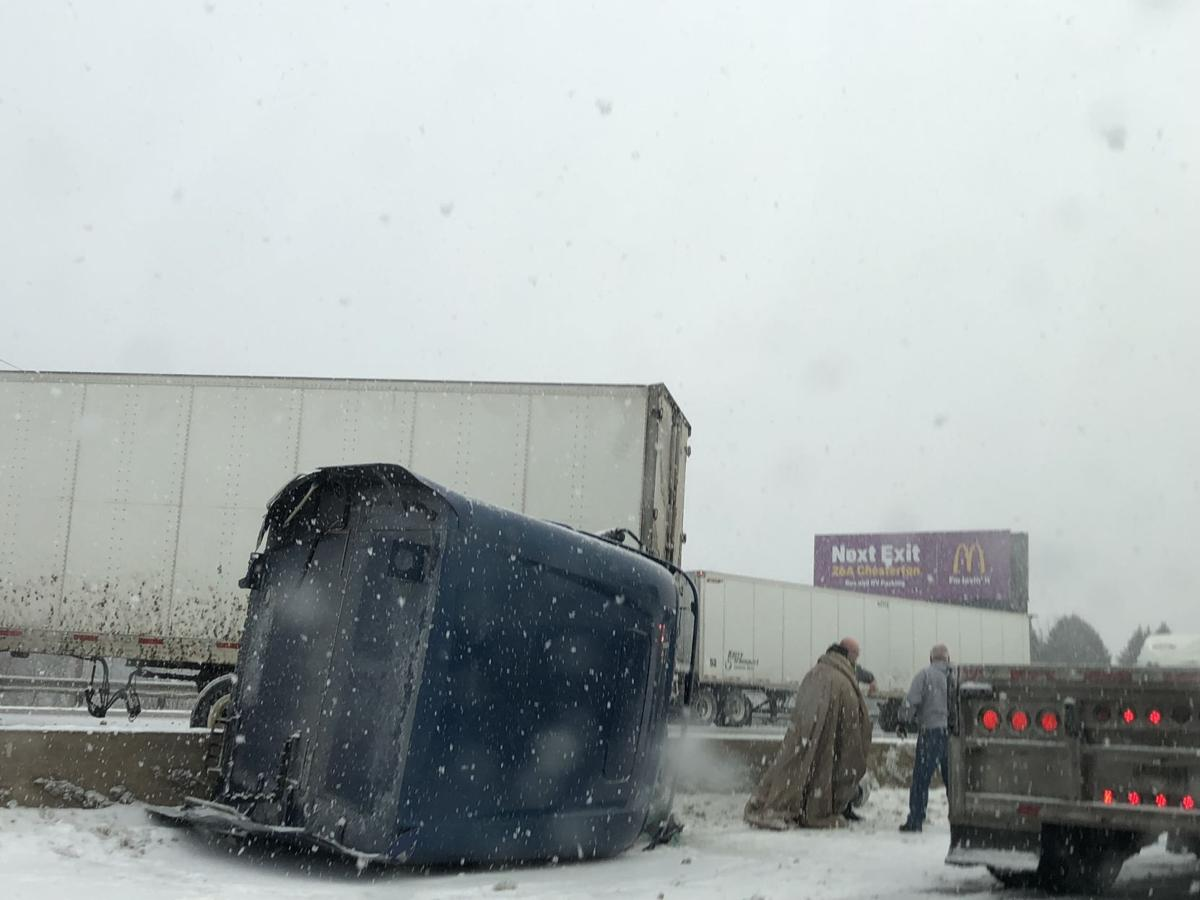 UPDATE: I-65, Borman moving slowly; most intense snow expected this afternoon