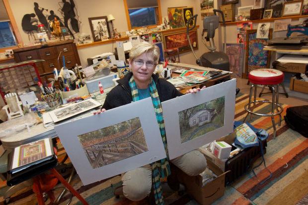 Leslie Green: Miller Beach's Native Artist Returns