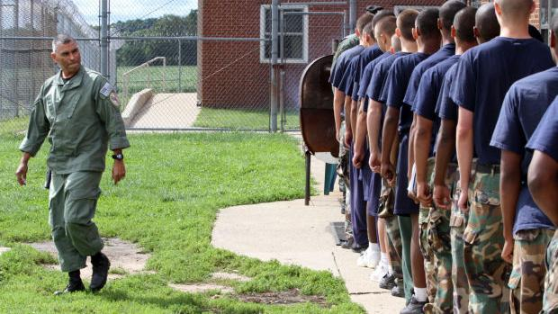 boot camps a rehabilitation for the juvenile offenders