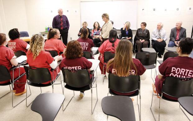 Porter County inmates work toward brighter future