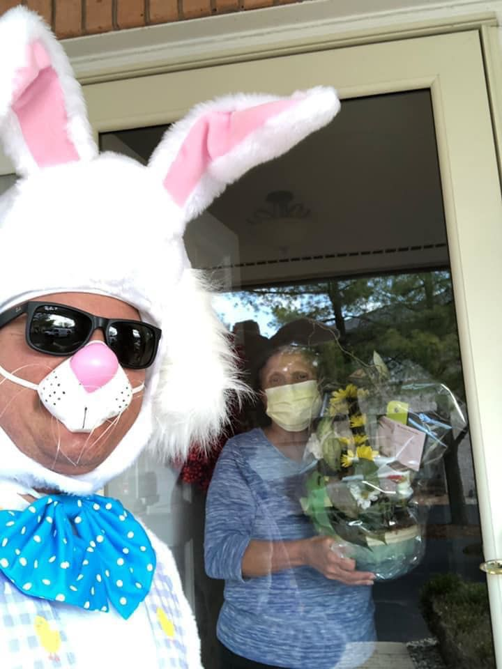 Easter Bunny to hop around Region to make deliveries for Merrillville Florist and Tea Room