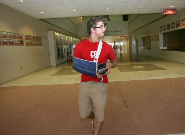 Crown Point's Tsirtsis still has big dreams while recoverying from surgery