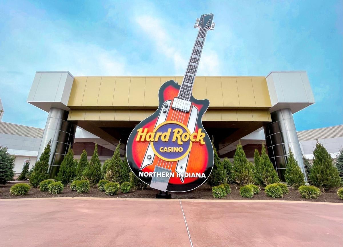 Hard Rock Casino guitar monument
