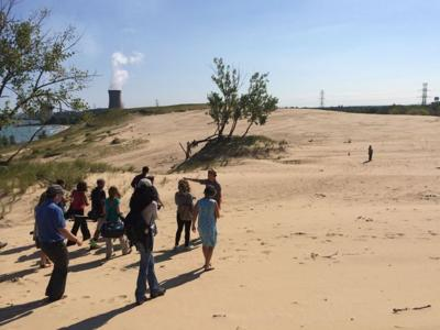 Researchers find new hole at Mt. Baldy dune