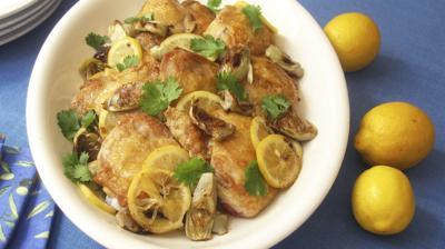 Food Column KitchenWise Baked Chicken Thighs