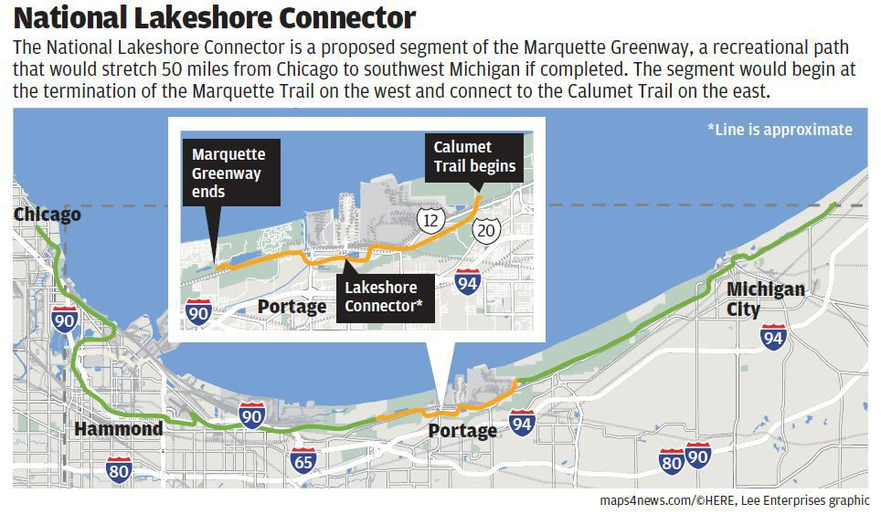 Regional planning agency seeks grant to finish Marquette Greenway