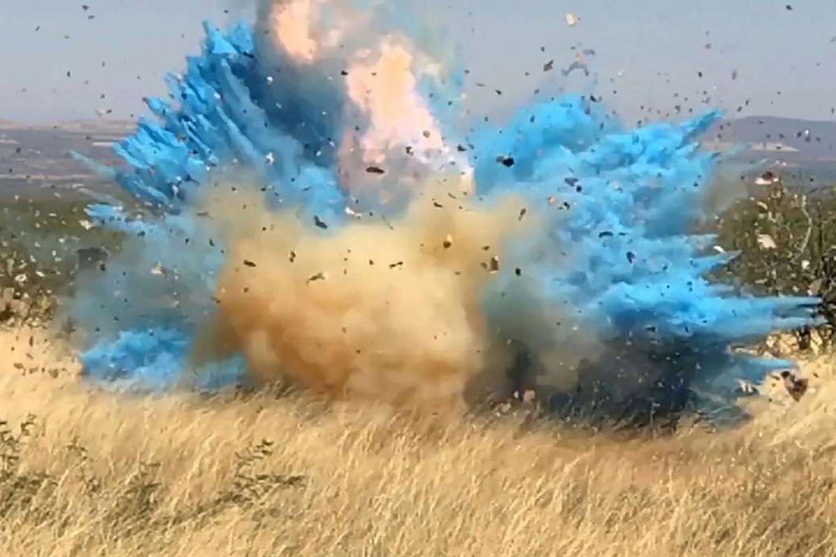 Gender Reveal Explosions