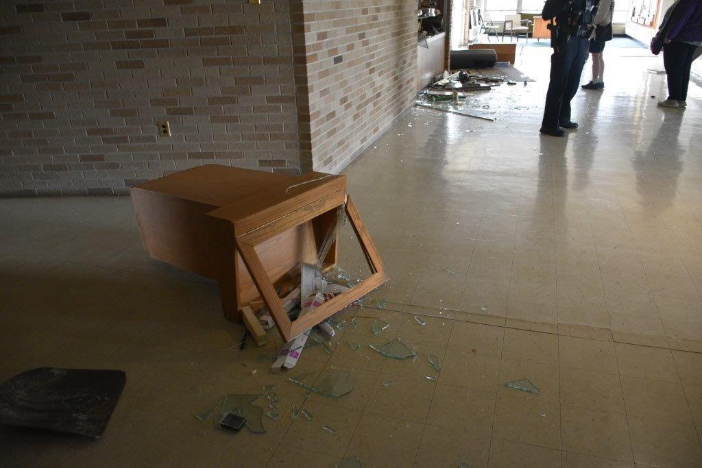 'We're having service'; Members keep faith after vandals trash Hammond church