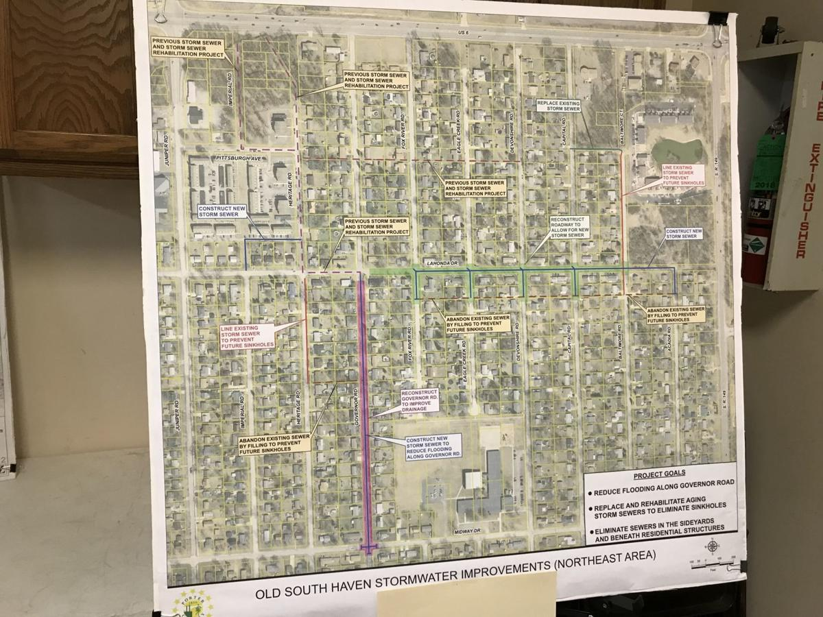 South Haven drainage project