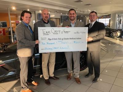 Dealership Gifts $5,000 to Boys & Girls Clubs of Greater Northwest Indiana