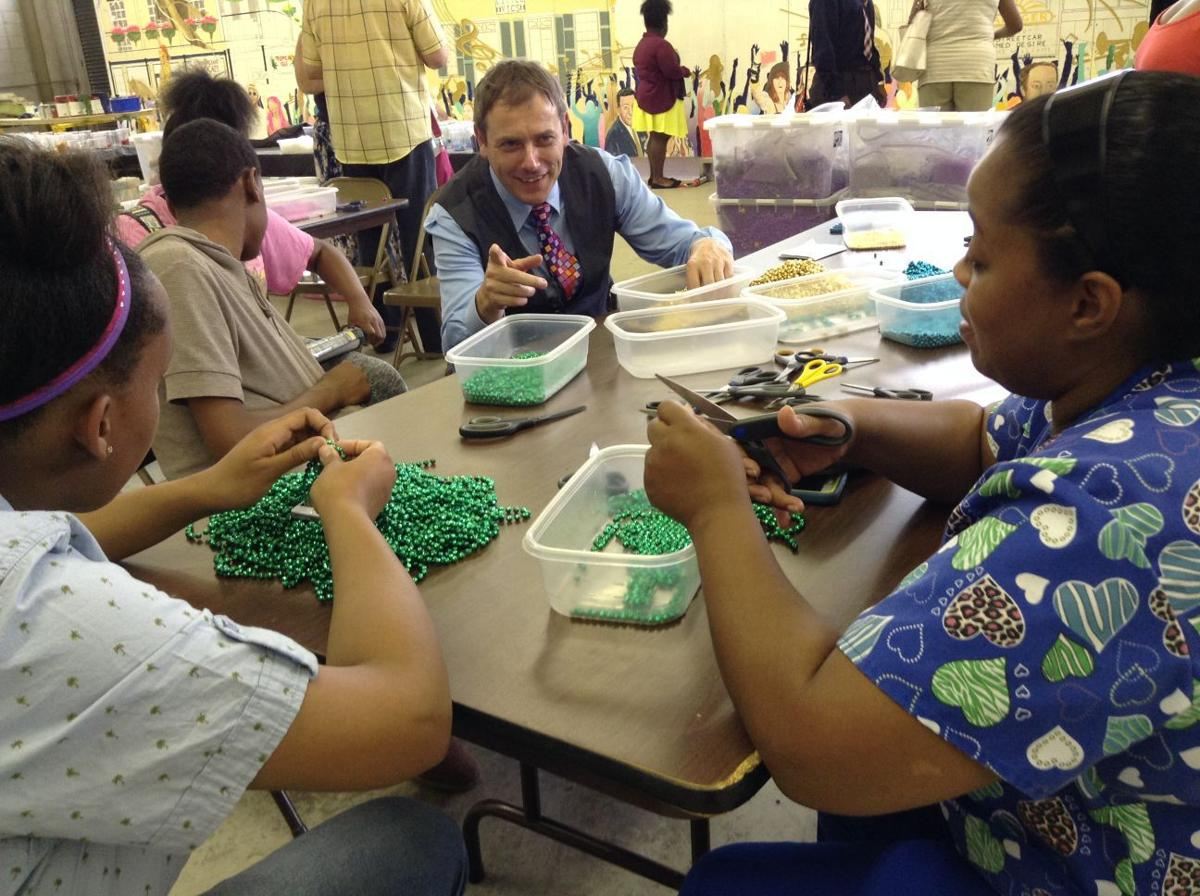 Gary students become part of the beads art culture