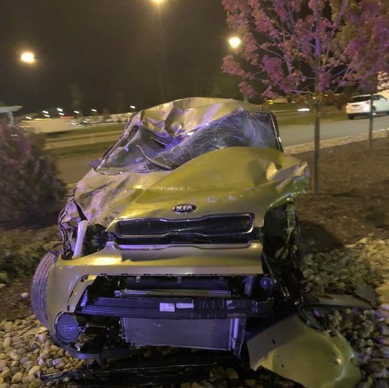 Police Elkhart Man Crashed Stolen Vehicle On Indiana Toll Road