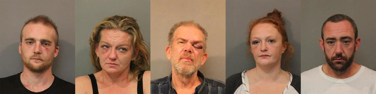 Hobart 5 arrests