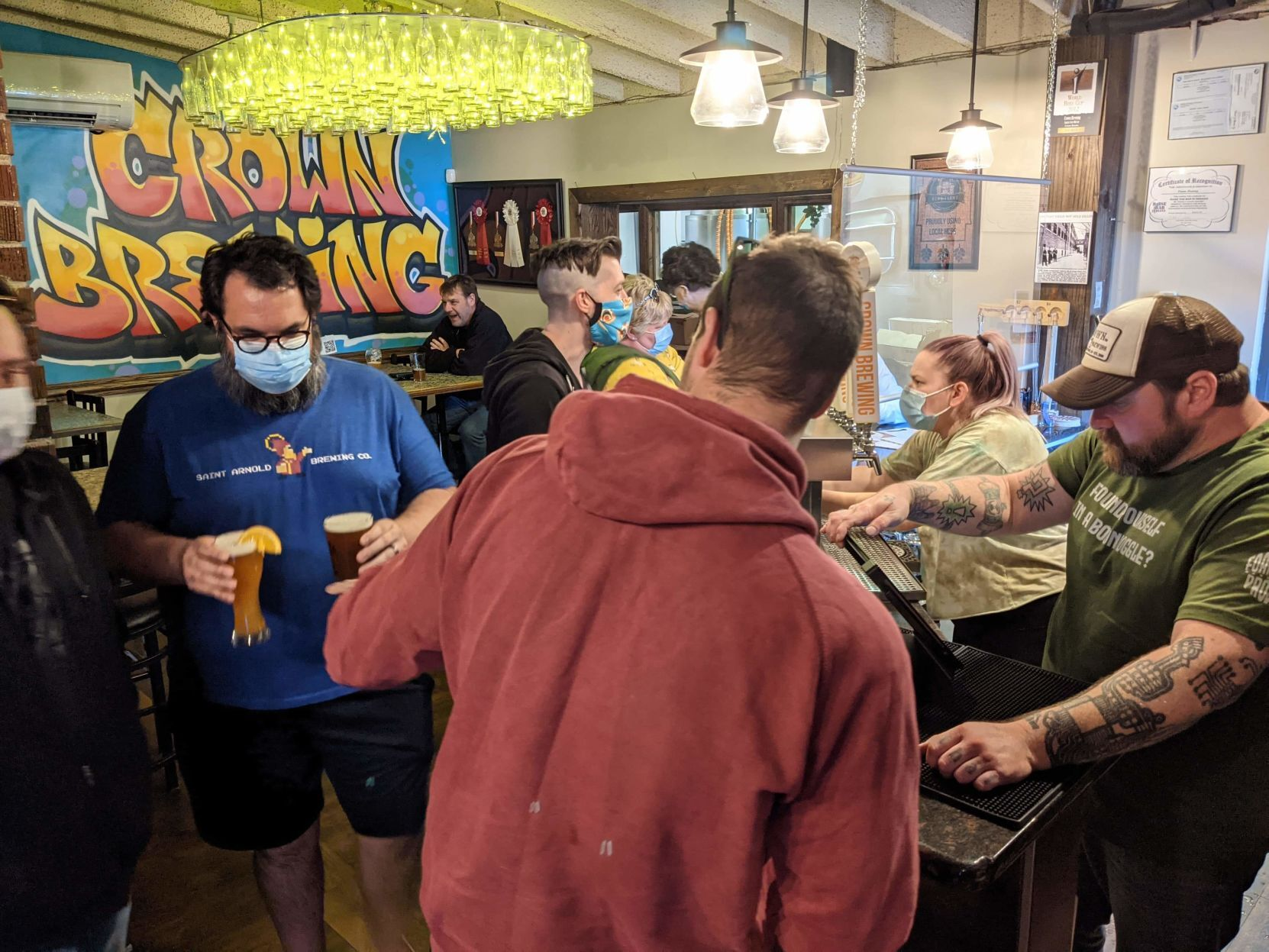 nwitimes.com - Joseph S. Pete - Crown Brewing's The Foamation Project experiments with innovative beers