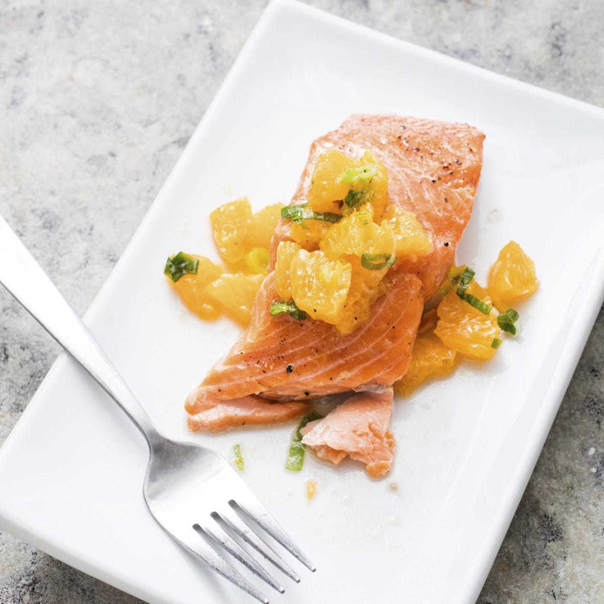 America's Test Kitchen: For this roasted salmon, skip the butter and