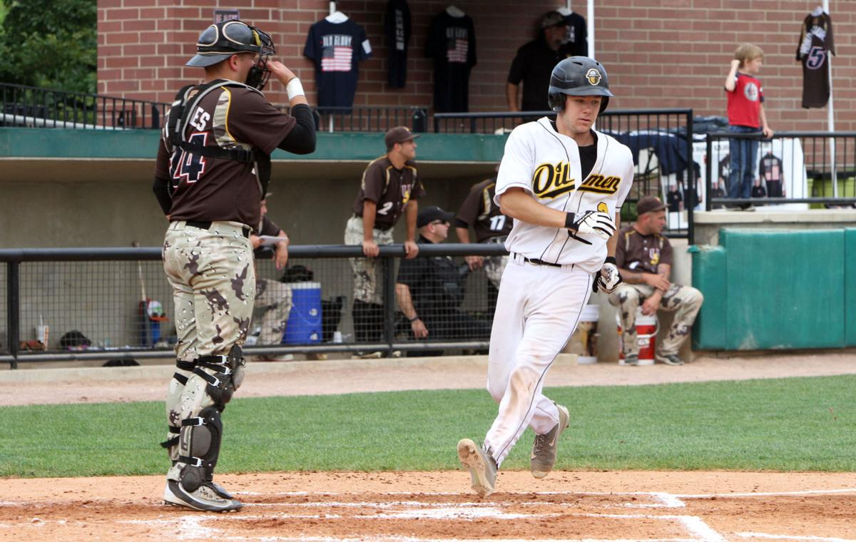 college baseball: U.S. Military All-Stars vs Oilmen