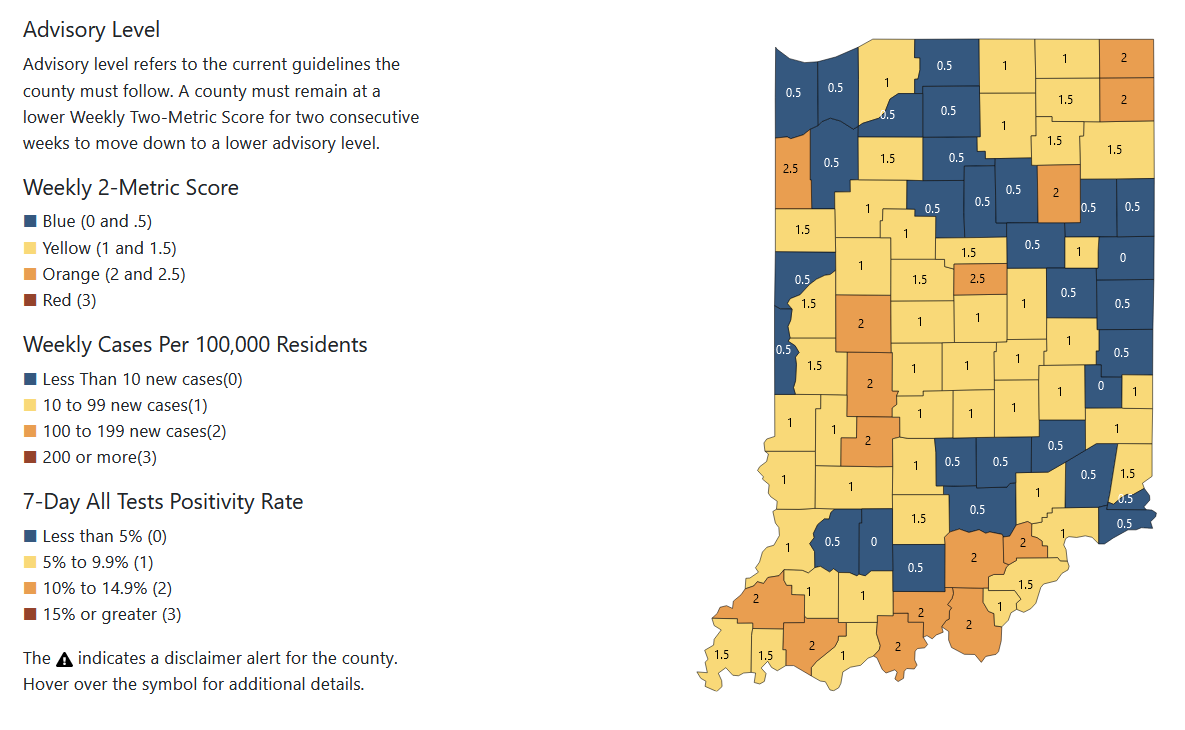 COVID-19 Delta variant infections surging in Indiana