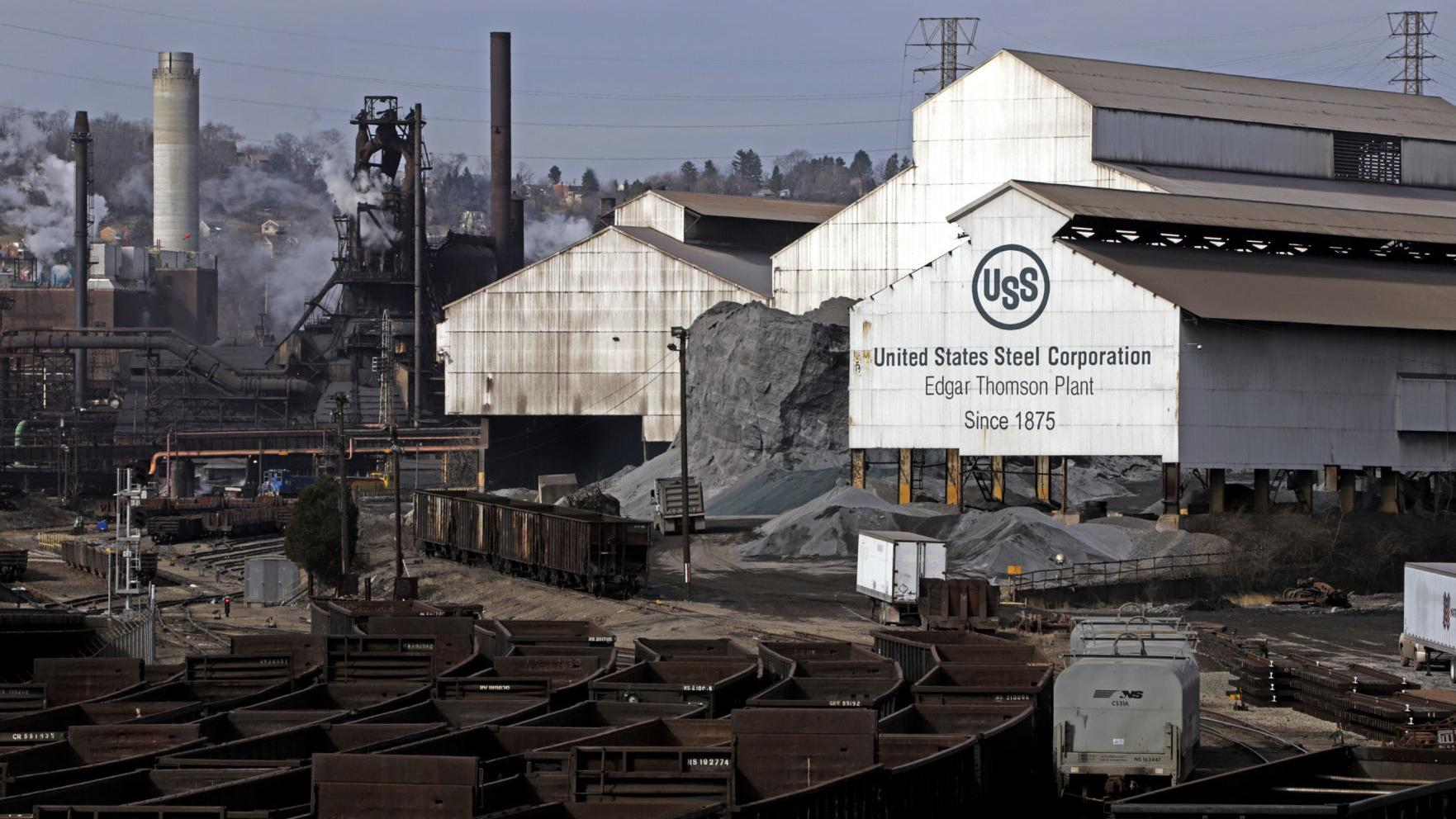 U.S. Steel, ArcelorMittal stocks struggling amid depressed prices