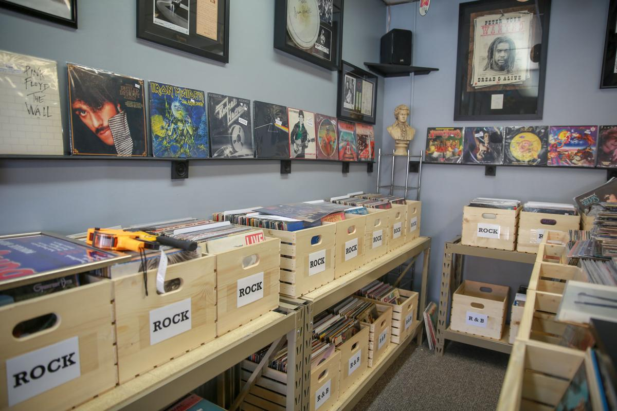 tom lounges opens record storeradio stationmini music museum in downtown hobart lake newsletter nwitimescom