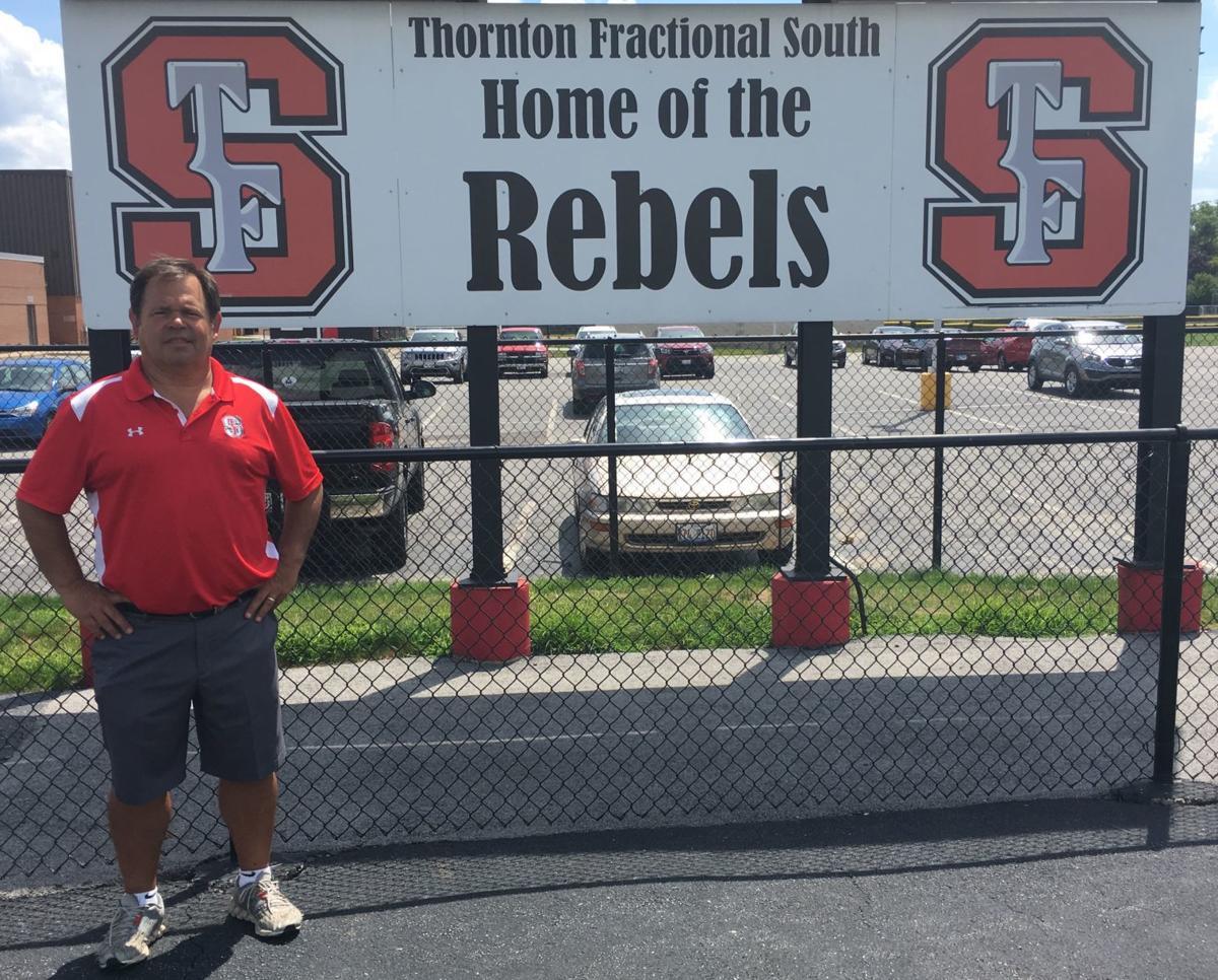 T.F. South coach Bob Padjen