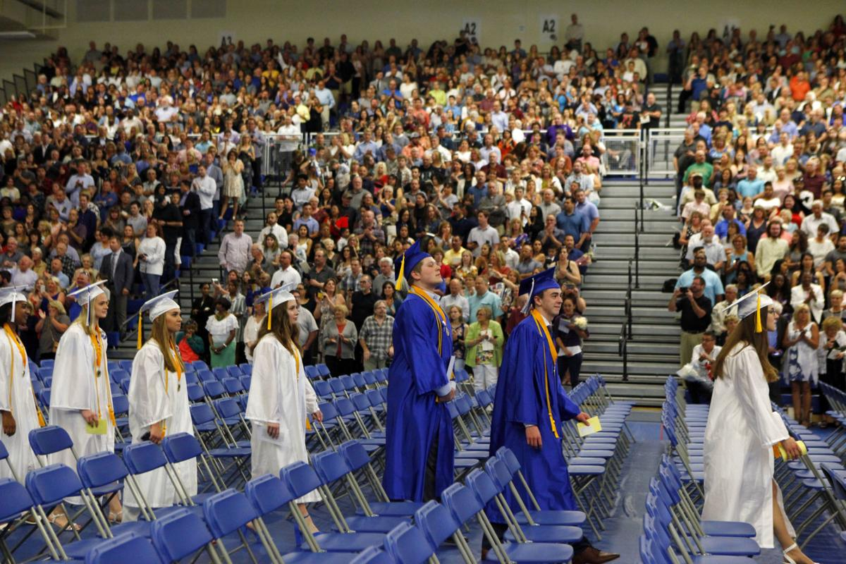 Lake Central High School commencement