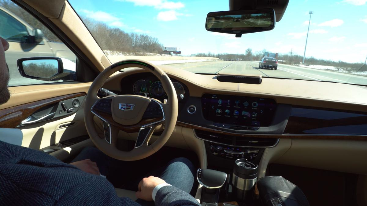 The 2018 Cadillac CT6 will feature Super Cruise, the industry's first true hands-free driving technology for the highway.