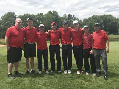 Crown Point boys golf at state