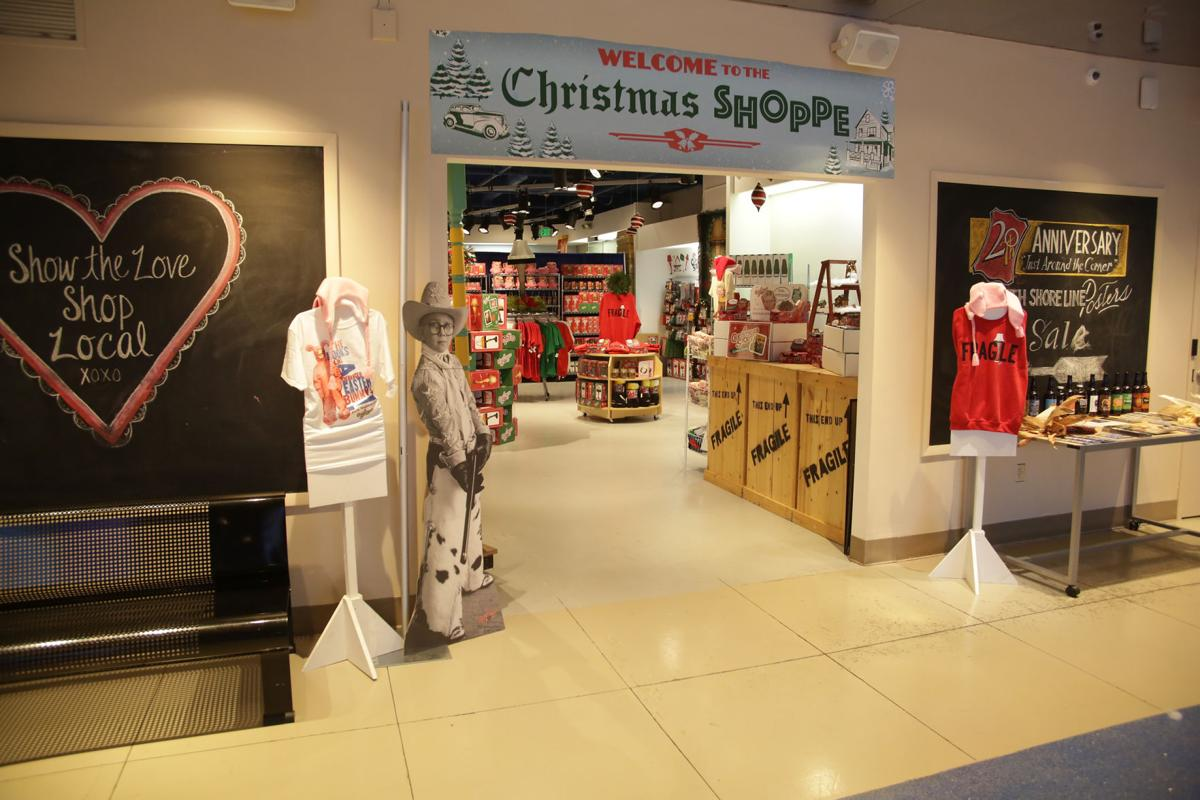 A Gift For Christmas Story.Indiana Welcome Center Gift Shop Transformed During A