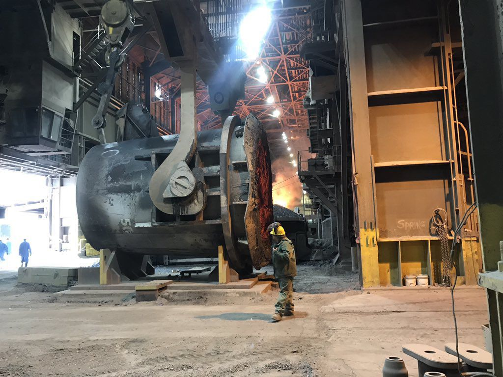 ArcelorMittal has been investing in Indiana Harbor