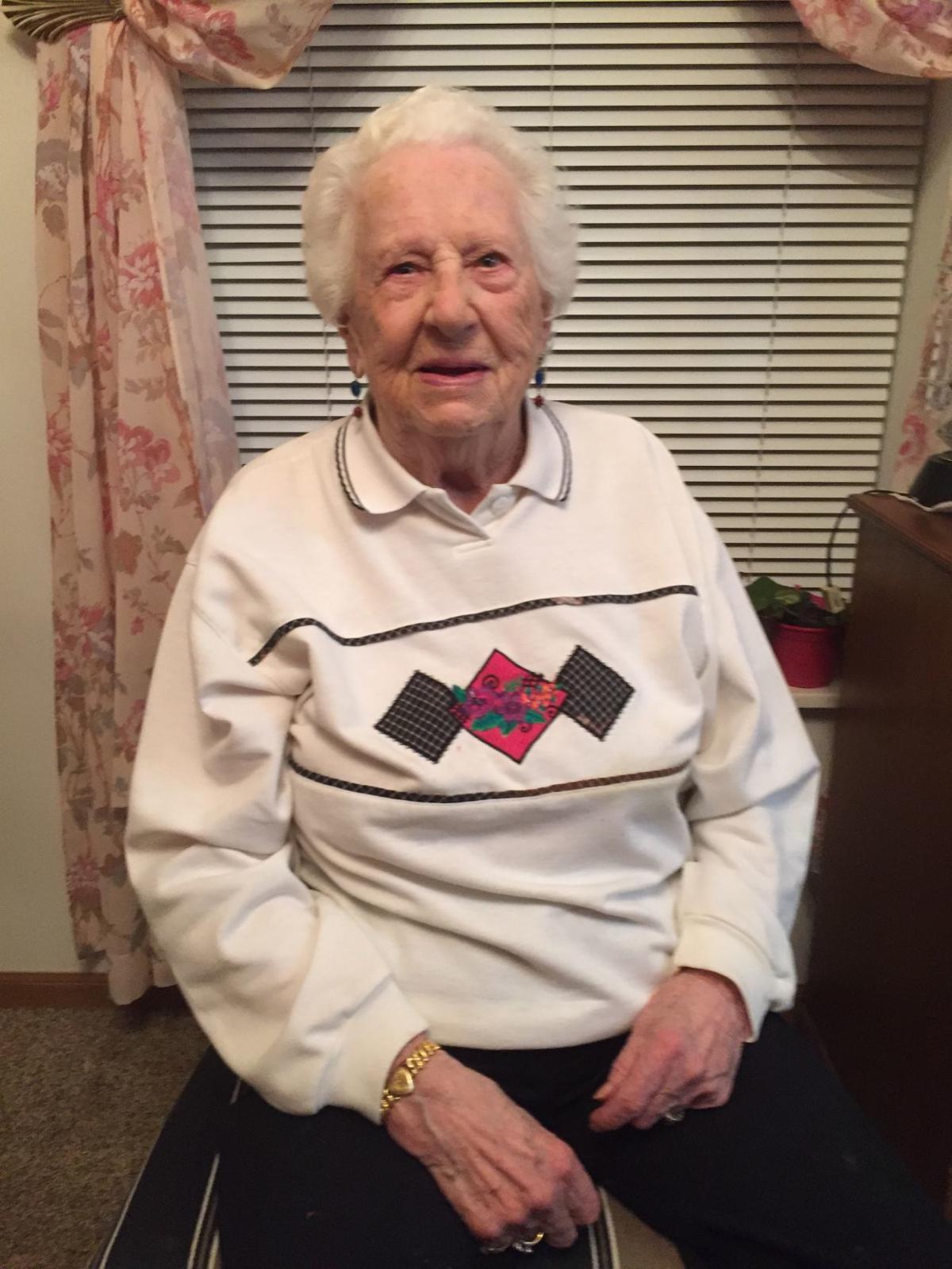 Maxine Rice celebrates her 100th birthday