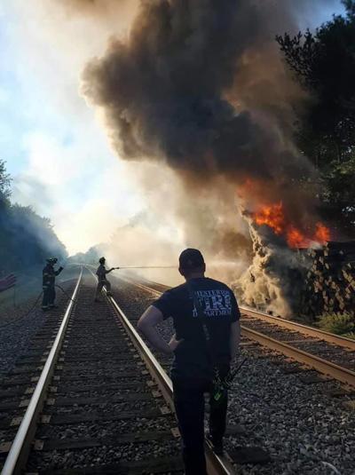 railroad fire