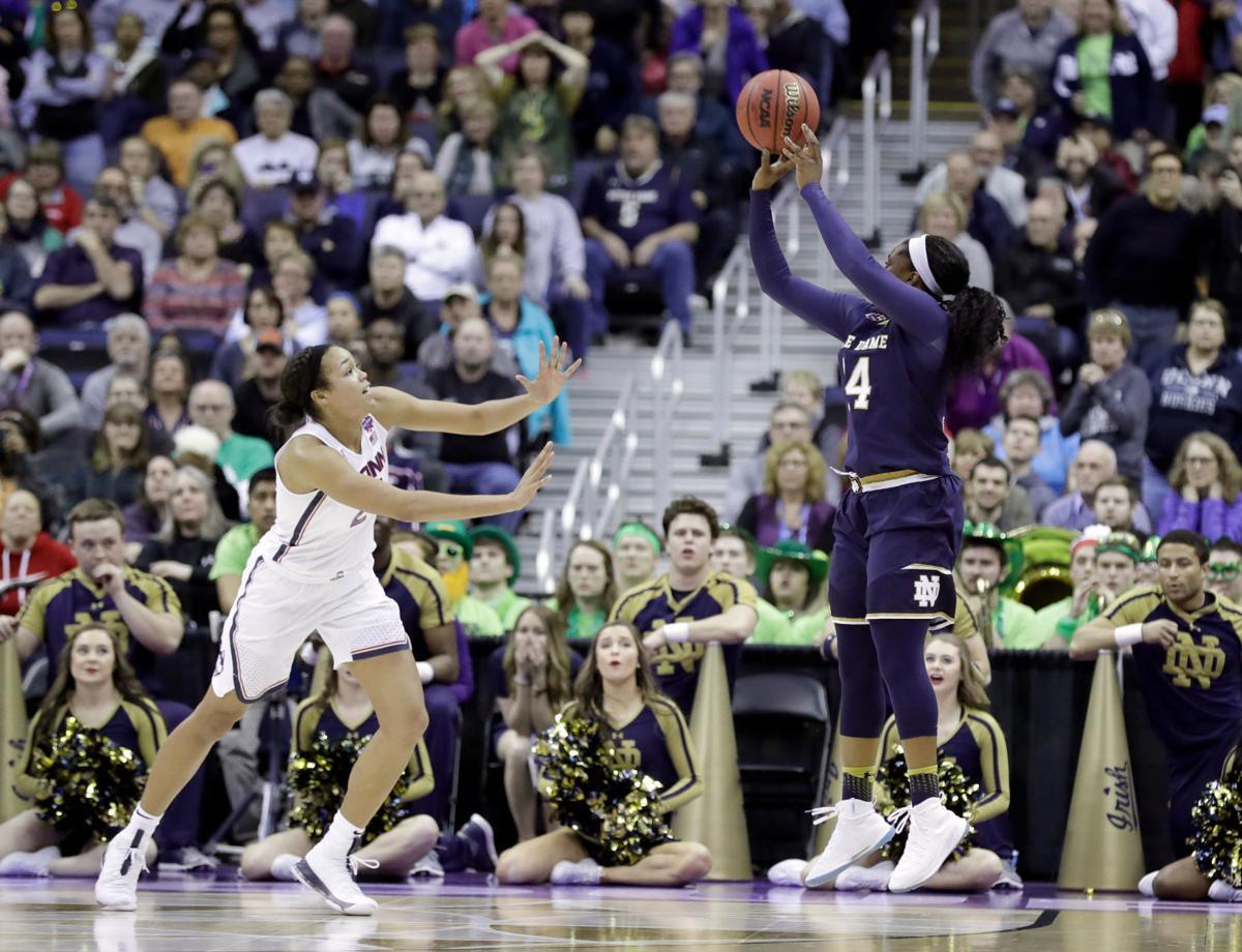 APTOPIX Final Four Notre Dame Connecticut Basketball