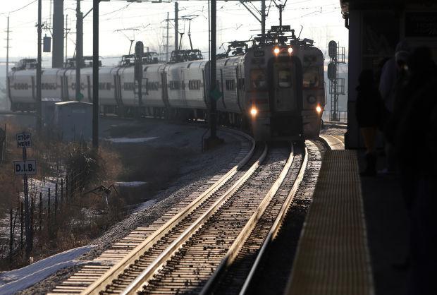 South Shore commuter train