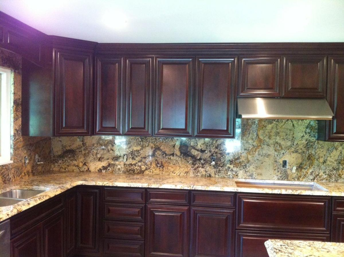Countertop Options: An array of synthetic and organic materials are on