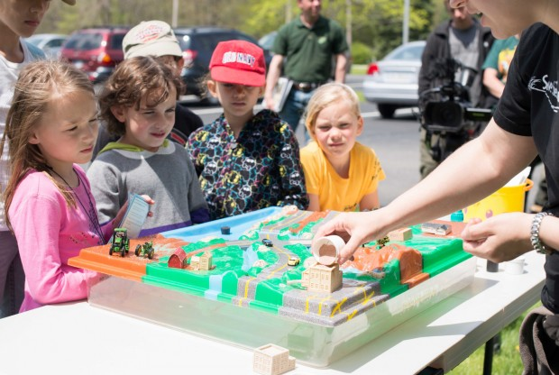 Wetland preservation lesson sinks in