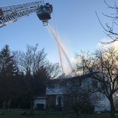 Man in critical condition after being rescued from Monday morning fire