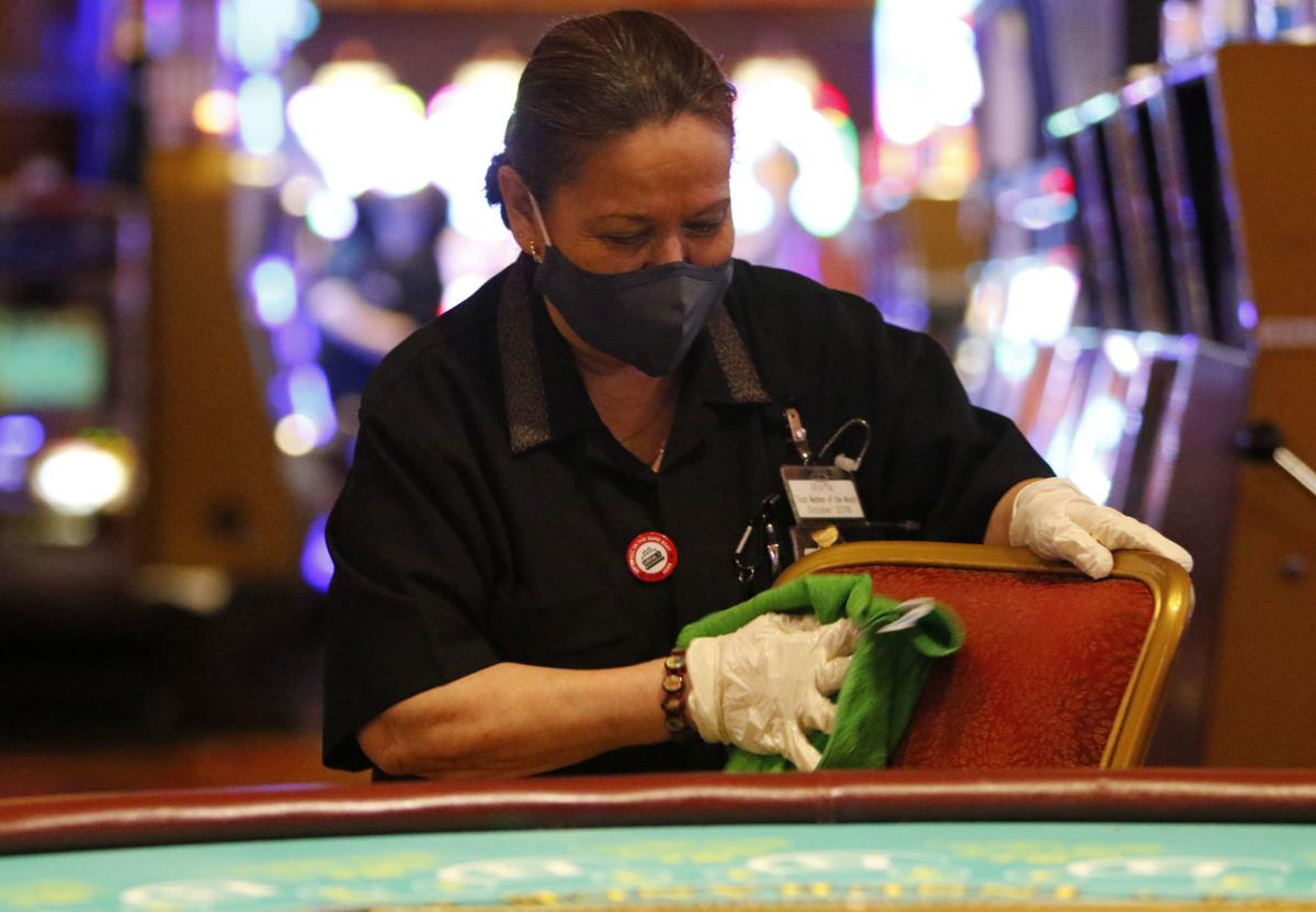 Blue Chip Casino previews new social distancing measures