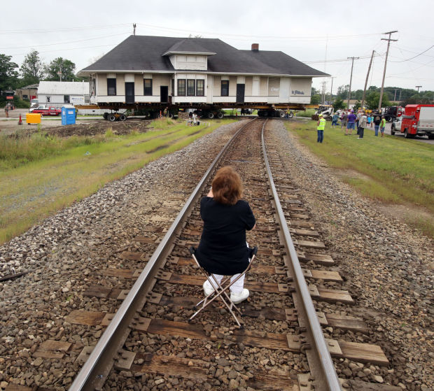 historic train depot on the move valparaiso news