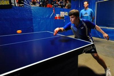C P  teenager Johnny Fioretti dreams of making the Olympic