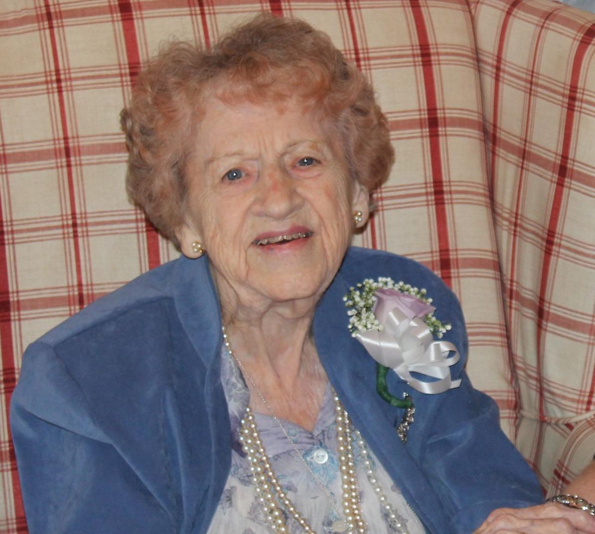 LaVanche West turns 100