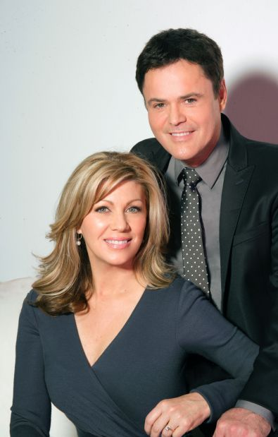 Orchestrating Harmonious Designs Donny Osmond Steps Onto