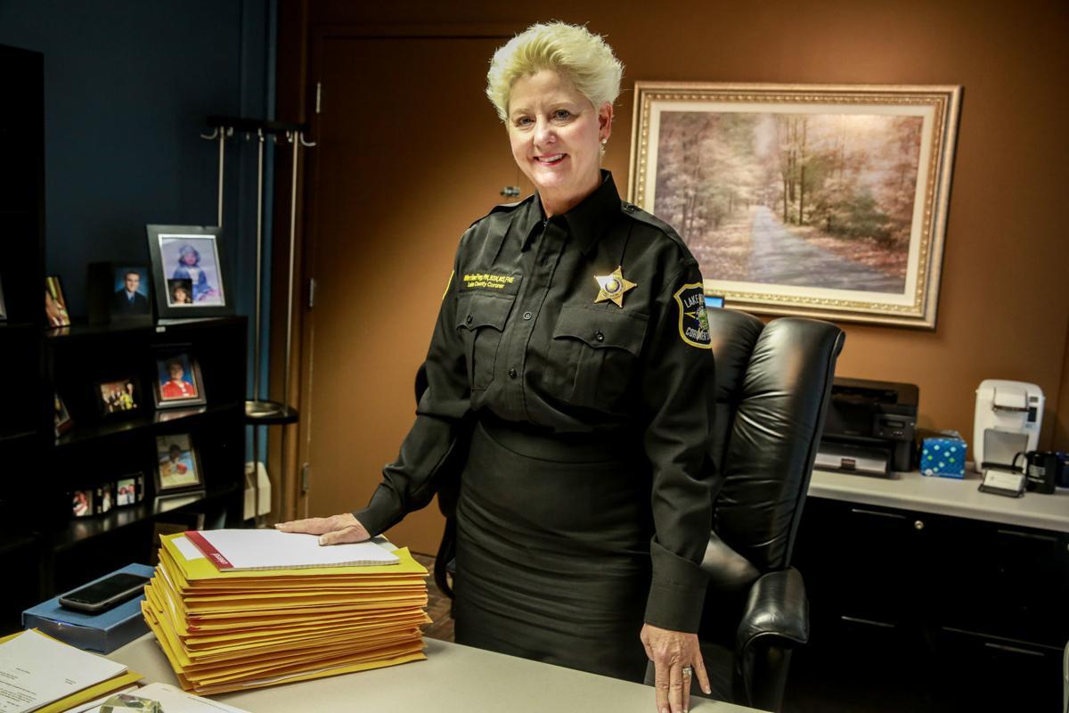 Lake County Coroner Merrilee Frey talks about her job