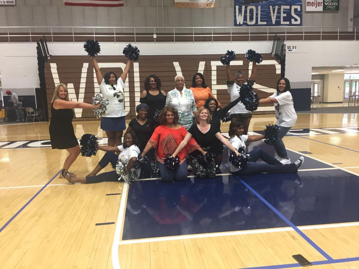 Rogers Raiderettes, Olympian reunite at Michigan City health fair