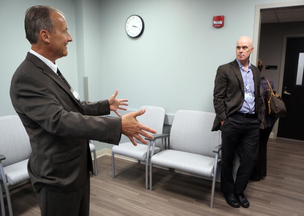 E C  hospital opens psychiatric unit for older adults