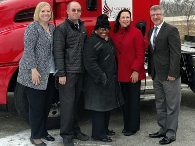 Gary transportation company switches to clean diesel trucks