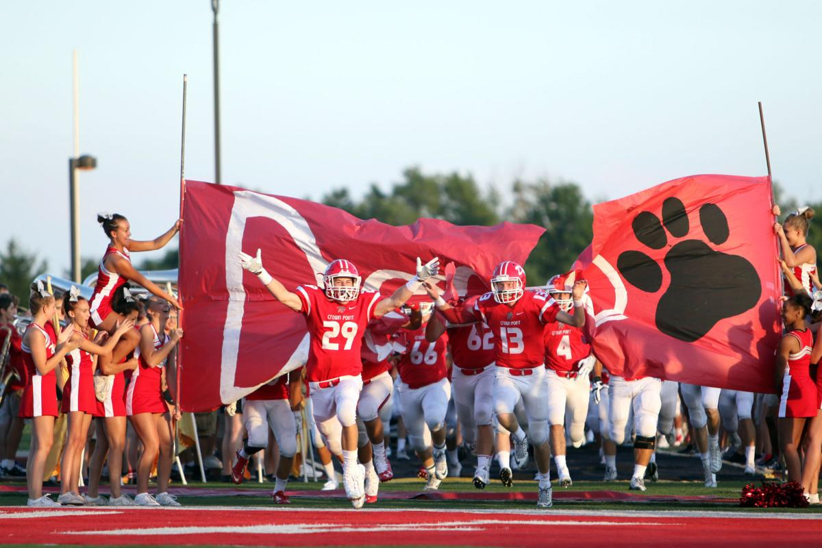 Lowell at Crown Point football