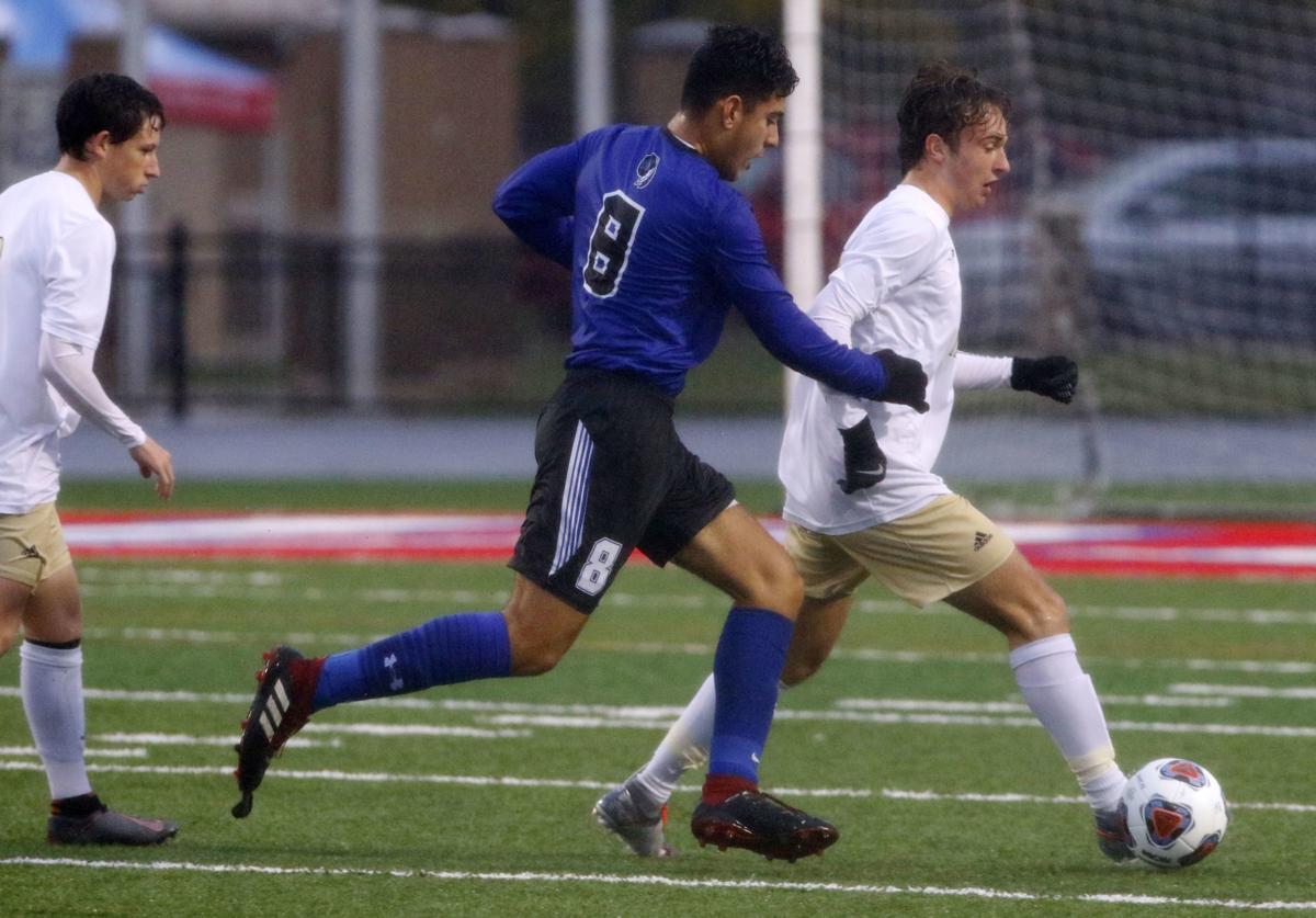 3A boys soccer semistate: Lake Central vs. Noblesville